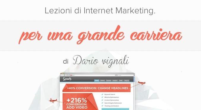 lezioni di internet marketing per fare carriera