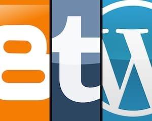 wordpress blogger tumblr o squarespace. quale scegliere