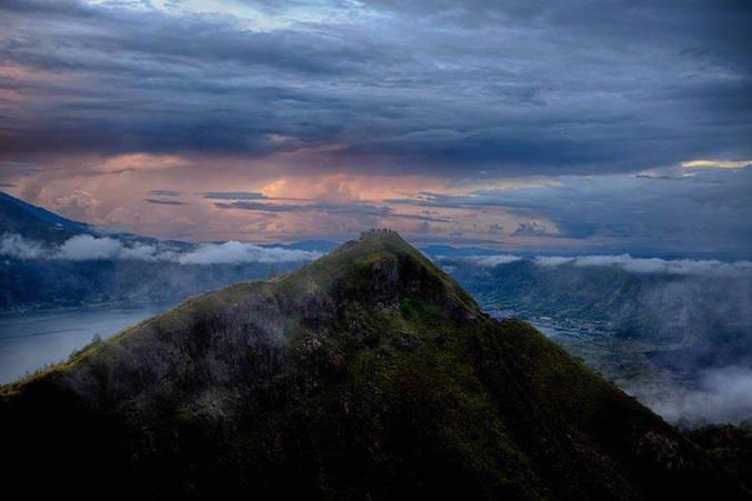 Vulcano Batur, Indonesia