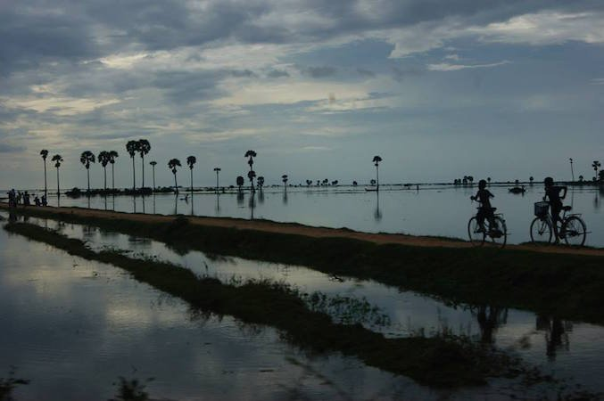 Cambogia in bicicletta