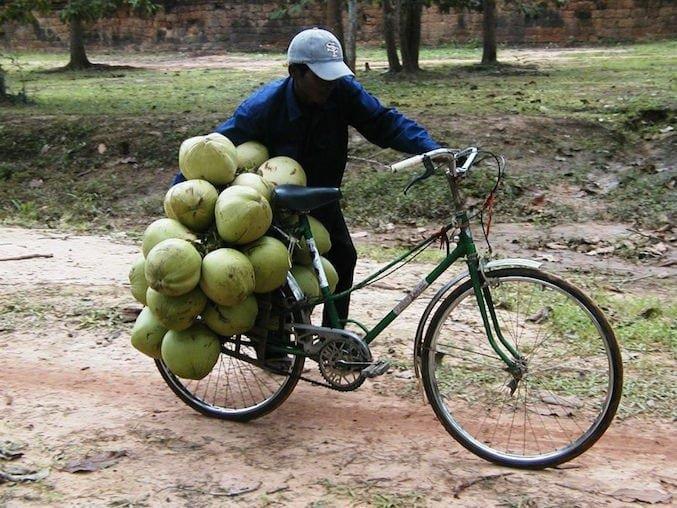 Angkor Watt, trasporti eccezionali