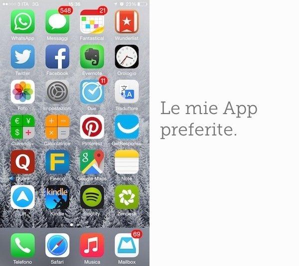 app preferite