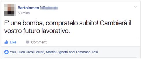 feedback facebook advanced